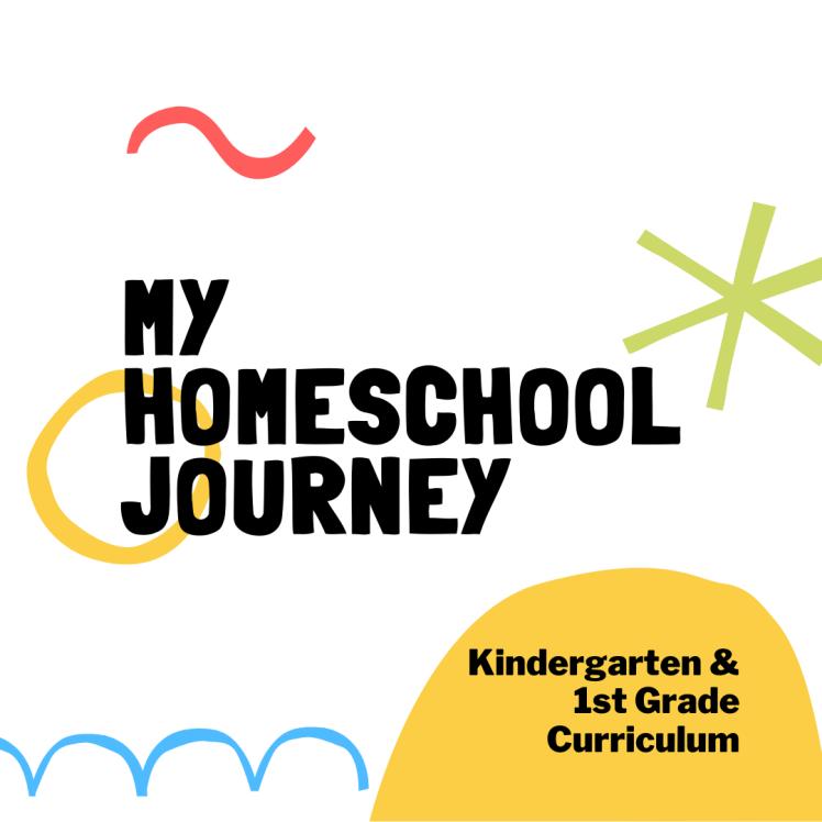Kindergarten & 1st Grade Curriculum Graphic